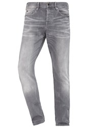 Scotch And Soda Ralston Stone Sand Slim Fit Jeans Cement Melange Grey Denim
