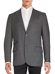 J. Lindeberg Donnie Tow Button Wool Sportcoat Grey