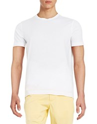 Brooks Brothers Cotton Tee White