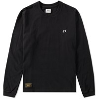 Wtaps Long Sleeve Design Tee Black