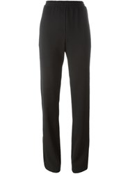 Givenchy Slit Detail Trousers Black