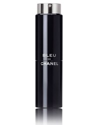 Bleu De Chanel Eau De Toilette Refillable Travel Spray 3 X 0.7 Oz.