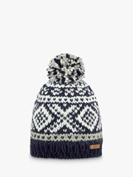 Barts Log Cabin Beanie One Size Navy
