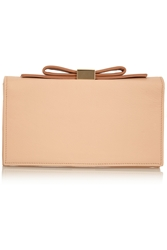 See By Chloe Nora Bow Embellished Leather Clutch