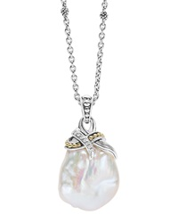 Luna Baroque Pearl Pendant Necklace Lagos