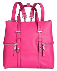 Inc International Concepts Haili Extra Large Convertible Backpack Created For Macy's Fuschia