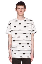 Lazy Oaf Eye Line Tee White