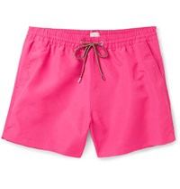 Paul Smith Slim Fit Mid Length Swim Shorts Pink