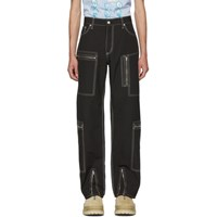 Eytys Black Mk Tech Trousers