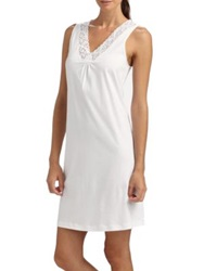 Hanro Moments Tank Gown White
