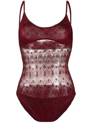 Missoni Mare Sheer Panelled One Piece 60