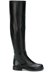 Loriblu Knee High Boots Black