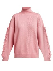 Barrie Troisieme Dimension Timeless Cashmere Sweater Pink