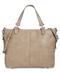 Inc International Concepts Elliah Wrap Medium Tote Created For Macy's Porcini