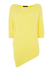 Max Mara Senior Light Weight Knit Pocho Yellow