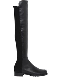Stuart Weitzman 20Mm 5050 Leather And Elastic Boots