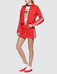 Adidas Originals Originals X Fiorucci Skirt Red