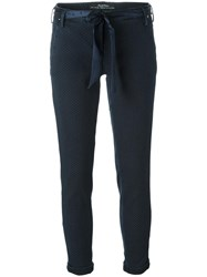 Jacob Cohen 'Mod' Slim Fit Trousers Blue