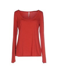 Pierantonio Gaspari Topwear T Shirts Women Red