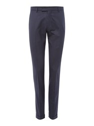 Label Lab Men's Iggy Pinstripe Skinny Suit Trouser Navy
