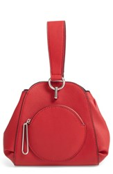 Danielle Nicole Theo Faux Leather Crossbody Bag Red