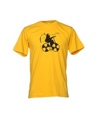 Undefeated T Shirts Yellow