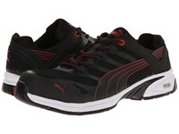 Puma Safety Fuse Motion Sd Black Red Men's Work Boots