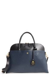 Lodis Dominica Under Lock And Key Rfid Leather Briefcase Blue Navy