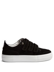 Ami Alexandre Mattiussi Low Top Suede Trainers Black