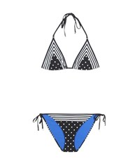 Stella Mccartney Printed Bikini Black
