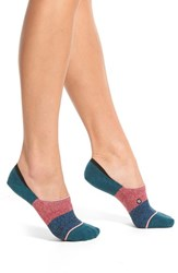 Women's Stance 'Trilogy' No Show Socks Teal