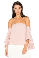 Milly Rosa Top Blush