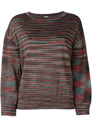 M Missoni Drop Shoulder Sweater Multicolour