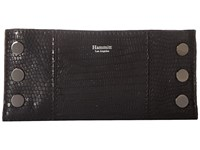 Hammitt 110 North Space Tejus Gunmetal Handbags Black