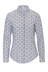 Red Valentino Cotton Owl Print Shirt