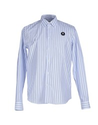 Wood Wood Woodwood Shirts Shirts Men Blue