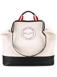 Sonia Rykiel Le Sailor Oversize Tote Women Cotton Nylon One Size Nude Neutrals