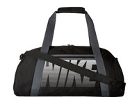 Nike Gym Club Black Dark Grey White Duffel Bags