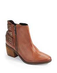 Schutz Caitlin Studded Ankle Boots Brown