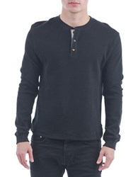 Sovereign Code Heith Henley Shirt Black
