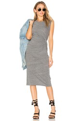 Splendid Tri Blend Shirt Dress Gray