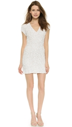 Parker Serena Silk Dress White