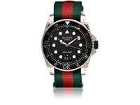 Gucci Men's Dive Stainless Steel Watch Green