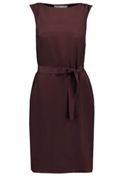 Only Stuflavia Cocktail Dress Party Dress Deep Mahogany Dark Brown
