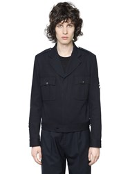Maison Martin Margiela Cotton Cavalry Military Style Jacket