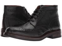 Frye Graham Brogue Chukka Black Pull Up Leather Men's Lace Up Wing Tip Shoes
