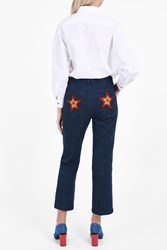 Mih Jeans Coler Flare Star Trousers