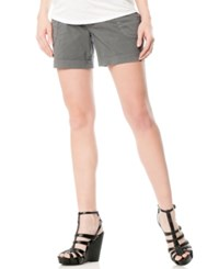 Motherhood Maternity Cargo Shorts Grey