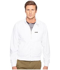 Members Only Iconic Racer Jacket White Men's Coat