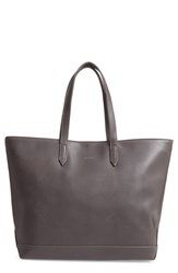 Matt And Nat 'Schlepp' Faux Leather Tote Grey Charcoal
